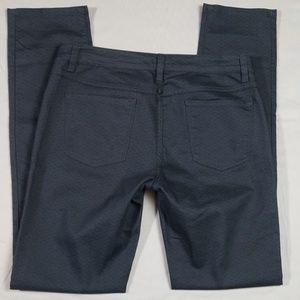 prAna Kara Printed Dark Gray Jeans Size 10/30